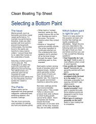 Selecting a Bottom Paint