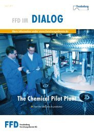 chemical pilot plant - Freudenberg Forschungsdienste SE & Co. KG