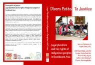 Divers Paths to Justice - English - Forest Peoples Programme
