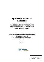 QUANTUM ENERGIE ANTILLES
