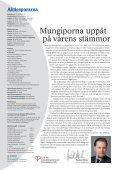 Starka vinster men Japan oroar Bästa fonderna går ... - Aktiespararna - Page 4