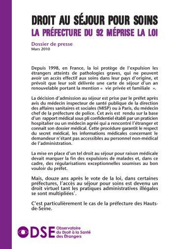 Dossier de presse - Médecins du Monde