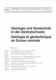 Geologie und Geotechnik i n d er Zentralschweiz ... - SGBF-SSMSR