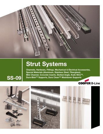 Cooper B-Line Strut Systems - Dixie Construction Products