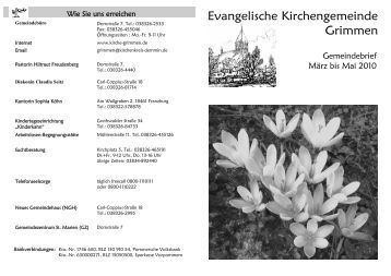 Gemeindebrief 10.03-10.05.pub - Ev. Kirchengemeinde Sankt Marien