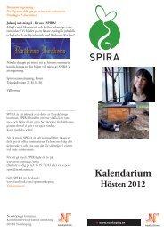 SPIRA - hösten 2012 - Norrköpings kommun