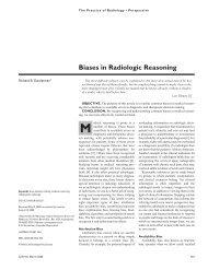 Biases in Radiologic Reasoning