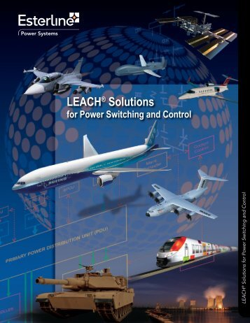 LEACH Solutions for Power Switching and Control - Esterline