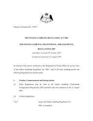 Online Gambling Transitional Arrangment ... - Jogo Remoto