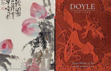 Asian Works of Art Asian Works of Art - Doyle New York