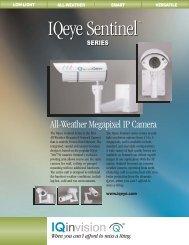 IQeye Sentinel series megapixel IP cameras (PDF 181k) - Network ...