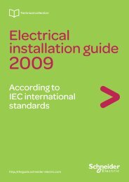 Electrical Installation Guide 2009 - the global specialist in energy ...