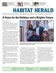 Winter 2011 - Twin Cities Habitat for Humanity