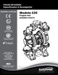 Modelo S20 Projeto não metálico nível 3