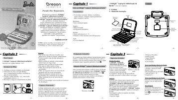 Capítulo 1 Capítulo 2 Capítulo 3 - Oregon Scientific