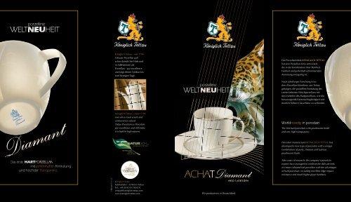 Produktinfos Königlich Tettau - Achat-Diamant Rio Grande