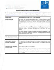 City of Cockburn Sustainability Initiatives - Urban Development ...