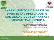 instrumentos de gestion ambiental aplicados a las aguas ...
