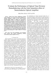 Evaluate the Performance of Optical Time Division ... - IJET