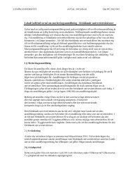 Lokalt kollektivavtal om meriteringsanställning ... - Lunds universitet