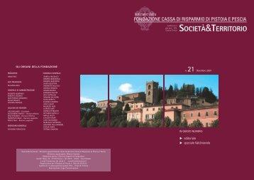 n.21 - Dicembre 2007 (1.300 Kb) - Fondazione Cassa di Risparmio ...