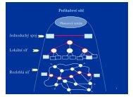 Počítačové sítě Jednoduchý spoj Lokální síť Rozlehlá síť - eAMOS