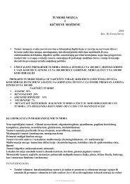 Tumori mozga [prof. Stevic].pdf - Beli Mantil