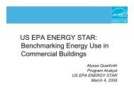 Benchmarking Energy Use in Commercial Buildings - NFMT