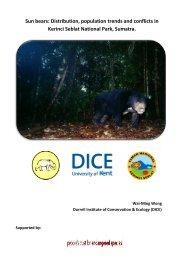 progress report - People's Trust for Endangered Species