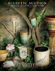 Download Eclectic PDF - Garth's Auctions, Inc.