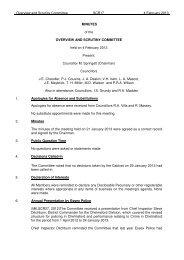 4 February 2013 - Chelmsford Borough Council