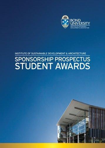 STUDENT AWARDS - Bond University