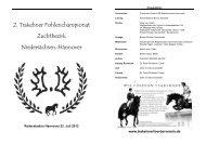 2. Trakehner Fohlenchampionat Zuchtbezirk ... - Peter Richterich
