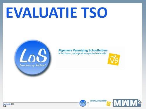 evaluatie tso - Avs