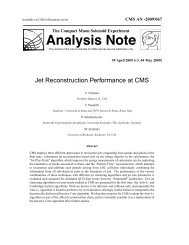 Analysis Note