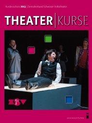 ZSV Kurse 2013 - Theater-Zytig
