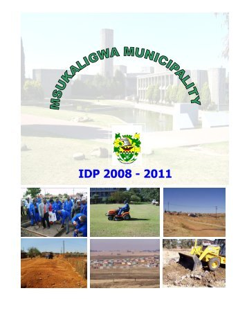 Msukaligwa Local Municipality 2008/09 - Co-operative Governance ...