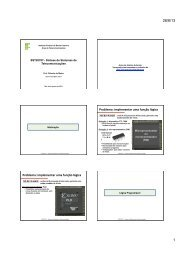 Problema: implementar uma função lógica Problema ... - Wiki