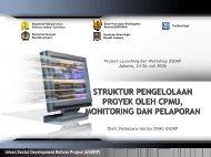 Urban Sector Development Reform Project ... - Ditjen Cipta Karya