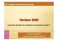 Presentation P. Viceriat innovation