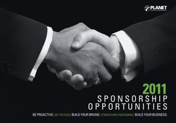 SponSorShip opportunitieS - LandcareNetwork.org
