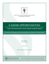 Career Technical Education and the College Completion Agenda