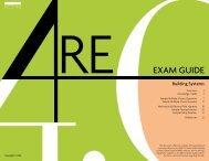 BS Exam Guide - NCARB