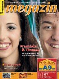 Das Lifestyle-Magazin der Region • 8. Jahrgang • August 2003 ...