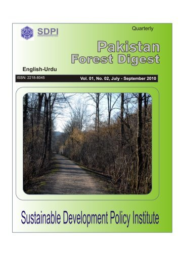 July - September, 2010 - Sustainable Development Policy Institute