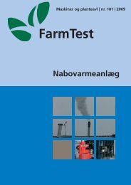 Afsluttet Farmtest nr. 101: Nabovarmeanlæg - LandbrugsInfo