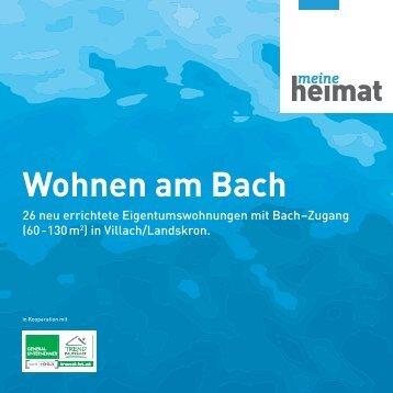 Wohnen am Bach - Heimat