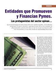Encuesta Entidades que Promueven y Financian Pymes - Revista El ...
