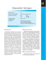 Disposable Syringes - Dc Msme
