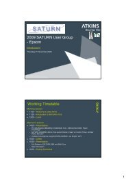 SATURN v10.9 Introduction